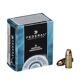 Federal Federal Personal Defence 9mm Luger 115gr JHP 20rd box (C9BP)