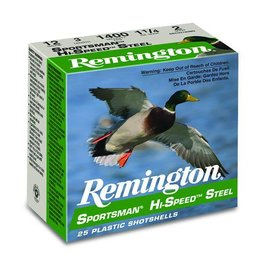 "Remington Remington SSTHV12HB 12ga Sportsman 3"" H/S Steel 11/8 #BB"