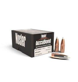 Nosler Nosler .375dia 375Cal 260gr Spitzer Accubond Bullets 50ct (54413)