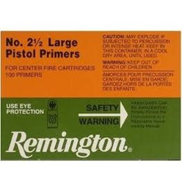 Remington Remington No.2 1/2 Large Pistol Primers/Brick 1000ct (22604)