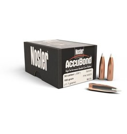 Nosler Nosler .358dia 35 Cal 200gr AccuBond Spitzer Bullets 50ct (54425)