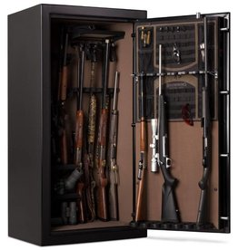 Browning Browning Sporter Safe SP33 Gloss Black, Silver Chrome Hardware, Electric Lock (1601100279)