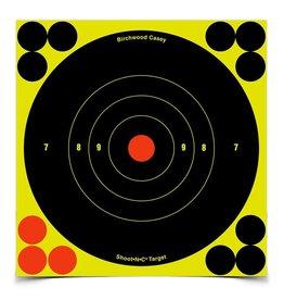 """Birchwood Casey Birchwood Casey 34550 Shoot-n-c 6"""" Bull's eye target 60 sheet pkg"""