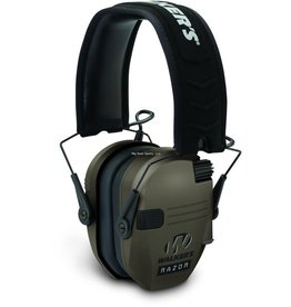 Walkers Walkers GWP-RSEM-FDE Razor Slim Shooter Folding Electronic Ear Muff, NRR23dB, Low Profile, HD Sound, Black
