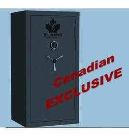 Browning Browning 23 Gun Safe, Gray finish w/ Canada leaf graphic, Electronic Lock