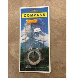 G.Hjukstrom Limited Compass Map w. scale (KT-0822)