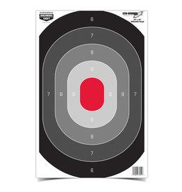 "Birchwood Casey Birchwood Casey Eze-Scorer 23""x35"" oval silhouet targets folded (37053)"