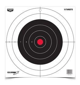 "Birchwood Casey Birchwood Casey 37013 Eze-Scorer bullseye 12"" paper target"