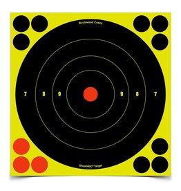 """Birchwood Casey Birchwood  Shoot-N-C 8"""" Bull's Eye Target 30 sheet pkg (34825)"""