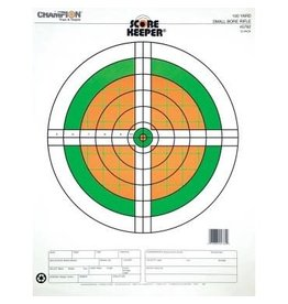 "Champion Champion Scorekeeper 100yd Sm Bore Rifle Flourescent Target 14""x18"" 12pk (45762)"