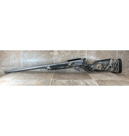 "Thompson-Center Thompson Center Encore 204 Ruger break open single shot camo stock 28"" stainless fluted barrel (542263)"