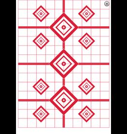 "Pro-Shot Pro-Shot 23""x35"" 200 Yard sight in target 5pk (RSI-1200YT-5PK)"