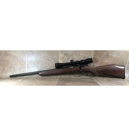 Savage Arms Savage 93R17 17HMR LH wood stock blued barrel 9-3x40wa Ravage scope (1911968)
