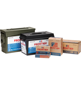 Frontier by Hornady Frontier by Hornady 223 rem 55gr sp 500 ODG  M19A1 Ammo Can (FR124)