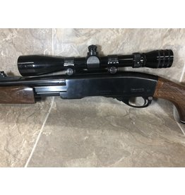 Remington Remington 760 243win pump action wood stock blued barrel (B6951291)