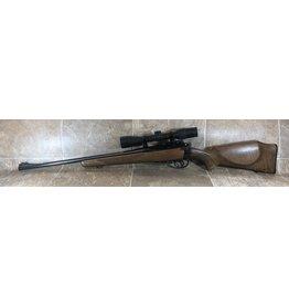 Lee Enfield CS Lee Enfield No4 MK1 303 British bolt action wood stock blued barrel w/weaver grandslam 3-10x40 scope (17888)