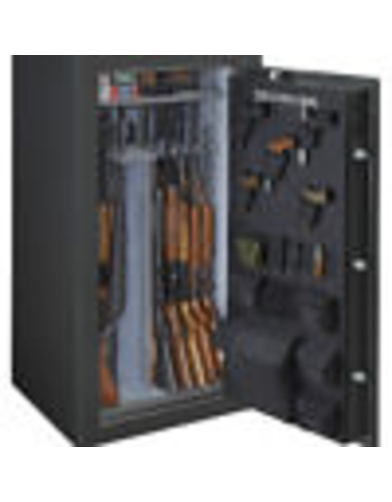 Stack-On Stack on S-36-DGP-E-S-PC 36-Gun Safe textured, electronic lock  (S-36-DGP-E-S-PC)