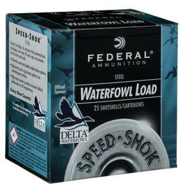 "Federal Federal Speed Shok Steel 12ga 2 3/4"" 1 1/8oz 2 shot 1500FPS (WF1452)"