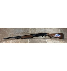 "Mossberg Mossberg 410ga pump 2 1/2"" and 3"" shells wood stock 24"" blued barrel (V0542207)"