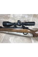 sabatti Sabatti Rover 600 223 rem wood stock blued barrel  w/ 3-12x56 bushnell scope shop demo (R63259)