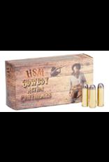 HSM HSM 45 Colt 250gr rnfl Cowboy action lead 50 rnds (HSM-45C1N)