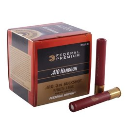 "Federal Federal Premium 410ga 3"" PD 4 buck 20rd (PD413JGE4B)"