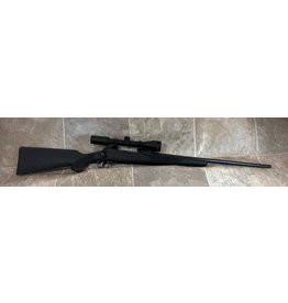 Savage Arms Savage Model 111 270 win blk syn stock blued barrel w/weaver 3-9x40mm scope (H661682)