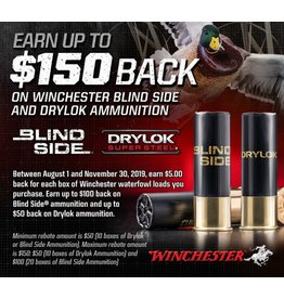 Winchester Winchester Blind Side and Drylok Rebates
