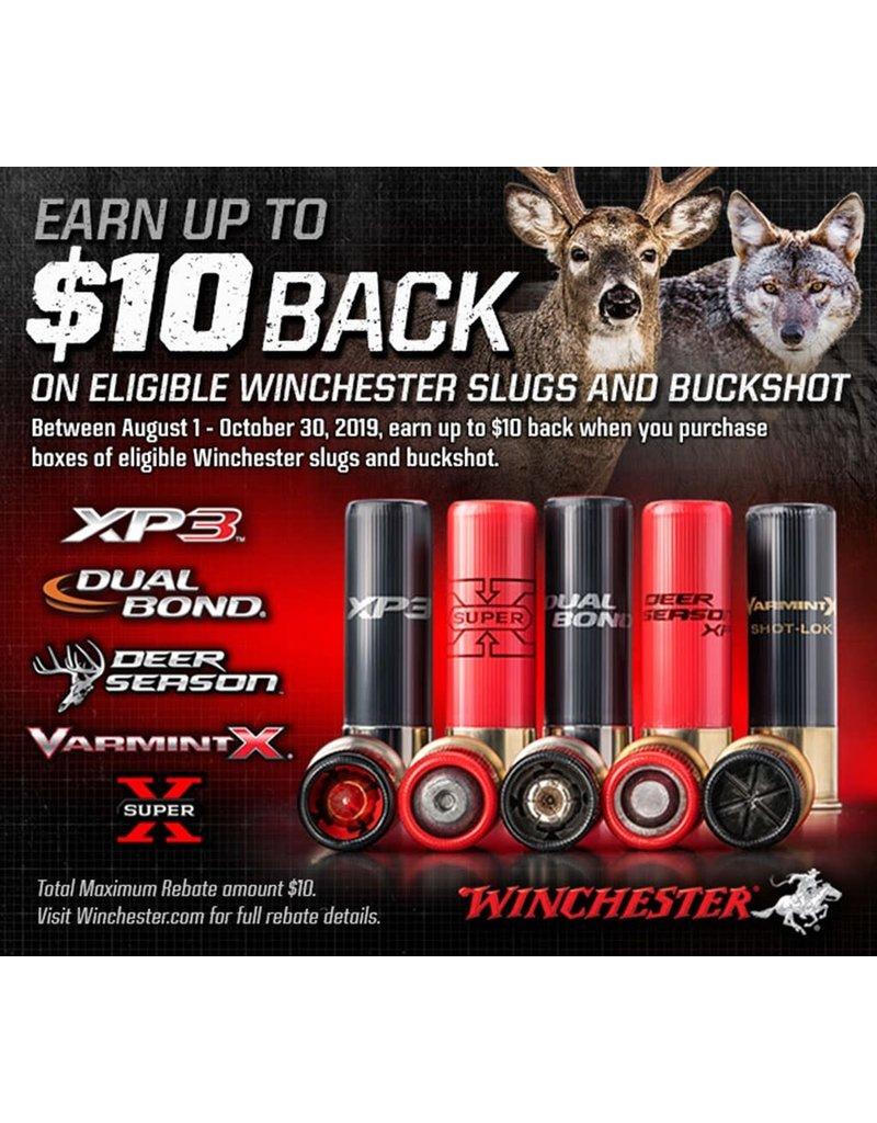 Winchester Winchester Slugs & Buckshot Ammo REBATE