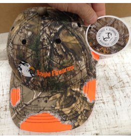 Eagle Eagle Firearms Realtree xtra Camo/Orange Hat (REALTREE-CAMO/ORG-HAT)