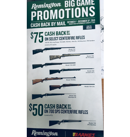 Remington Remington BIG GAME PROMOTIONS