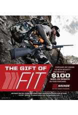 Savage Arms The Gift of FIT SAVAGE PROMO