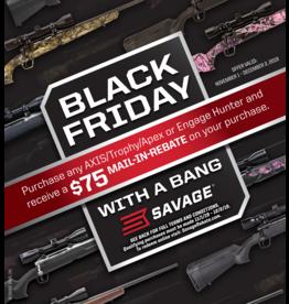 BLACK FRIDAY with a BANG Savage promo