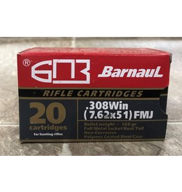 Barnaul Barnaul 308 Win 168gr FMJ (308168FMJ)