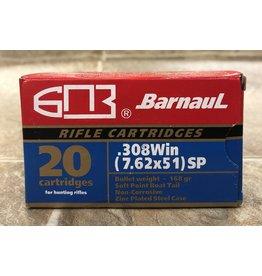 Barnaul Barnaul 308 Win 168gr SP (308168SP)