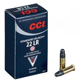 CCI CCI 22 LR 40gr Std Velocity Lead RN 50rd box (0035)