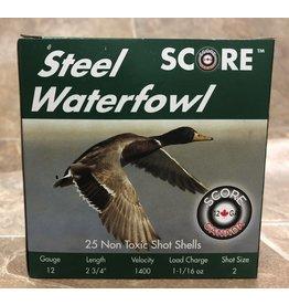 Score Score 12ga Steel 1400fps 2 3/4 1 1/16oz #2 (12S23/411/162)