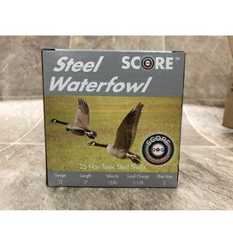 "Score Score 12GA Steel 1550fps 3"" 1.1/8oz #BB (12S311/8BBCASE)"