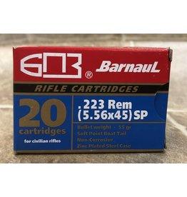 Barnaul Barnaul 223 rem 5.56x45 55gr SP (22355SP)