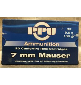 PPU PPU 7mm Mauser 139gr SP (7M139)