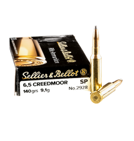 Sellier & Bellot Sellier & Bellot 6.5 Creedmoor 140gr SP (341712)