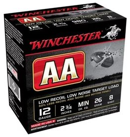 "Winchester Winchester AA Shotshell 12 ga 2-3/4"" 26gm 2-1/2dr 980FPS (AA12FL8)"