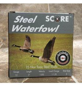 """Score Score 12GA Steel 1550fps 3"""" 1.1/8oz #3 (12SM311/83)"""