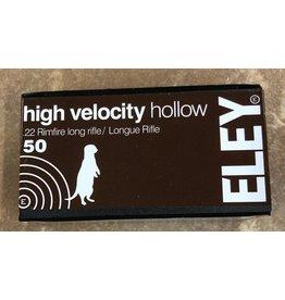 ELEY Eley High Velocity 22LR 38gr HP 50rd (05200)