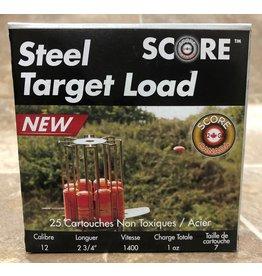 """Score Score  12GA Steel Target 1400fps 2.75"""" #7 (12STL7)"""