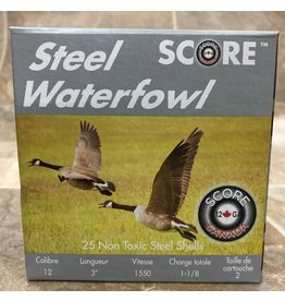 """Score Score 12GA Steel 1550fps 3"""" 1.1/8oz #2 (12S311/82)"""