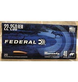 Federal Federal 22-250 40gr V-Max 20rds (V22250VM40)