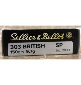 Sellier & Bellot Sellier & Bellot 303 British 150 Gr SP (331310)