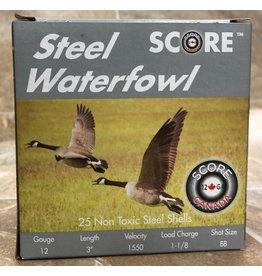 """Score Score 12GA Steel 1550fps 3"""" 1.1/8oz #BB (12S311/8BB)"""