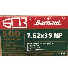 Barnaul Barnaul 7.62x39R 123gr HP (76239HP123) CASE